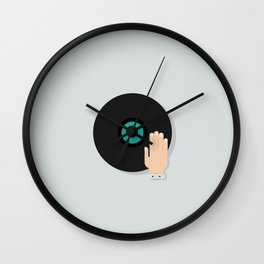 DJ Icon Wall Clock