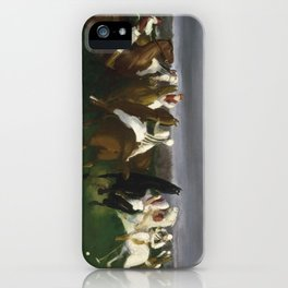 Polo at Lakewood - George Bellows  iPhone Case