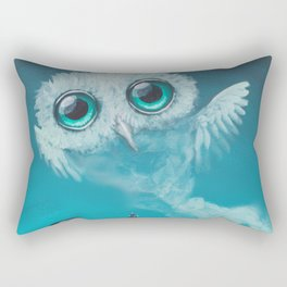 genie owl Rectangular Pillow