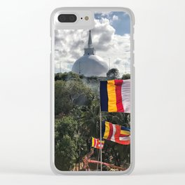 Temple on the Mountain Clear iPhone Case