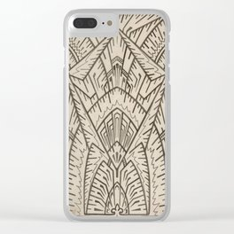 Christopher Dresser Design, 1883 Clear iPhone Case