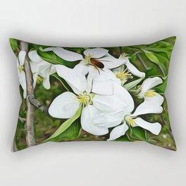 Collecting Pollen Rectangular Pillow