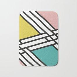 Modern geometric art Bath Mat