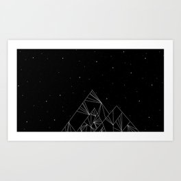 Mountain Art Print