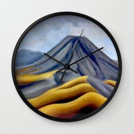 Ngauruhoe Wall Clock