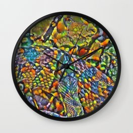 Colorful Scales Wall Clock
