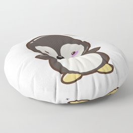 Penguin Kawaii Floor Pillow