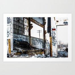No Trespassing 2  Art Print