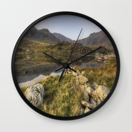 Lead Me To Ogwen Wall Clock