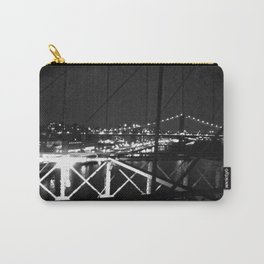 WHITEOUT : Standing 'Top the Bright Lit City Carry-All Pouch