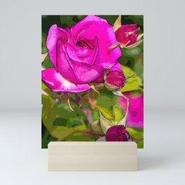 Rosa Rosales Mini Art Print