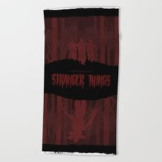 Stranger Things Beach Towel