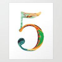 NeueFable 5 Art Print