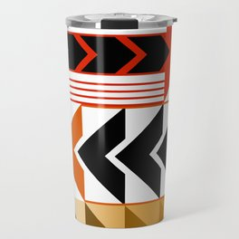 Colourful Arrows Graphic Art Design Travel Mug