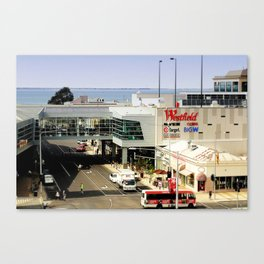 Shop by the Bay Canvas Print