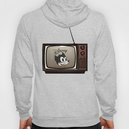 fallout Dismay cartoon on vintage tv Hoody