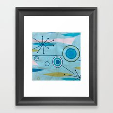 moonage daydream Framed Art Print