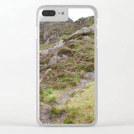 Wales Landscape 18 Cader Idris Clear iPhone Case