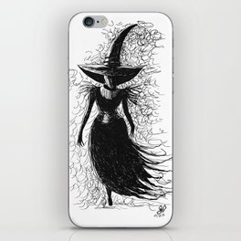 I'll Get You, My Pretty iPhone Skin