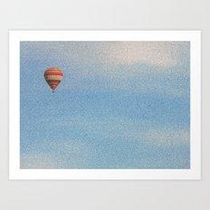 Sky's the limit Art Print