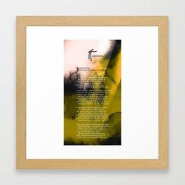 If— BY RUDYARD KIPLING v4 Framed Art Print