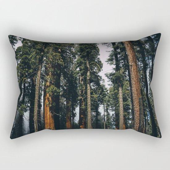Woods #fog Rectangular Pillow