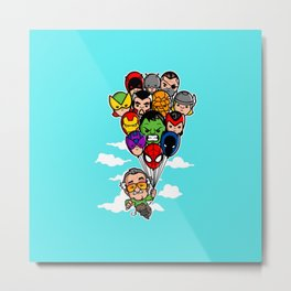 Balloon Stan II Metal Print