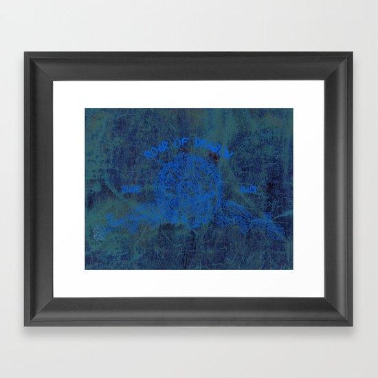 Roar of Dragon Framed Art Print