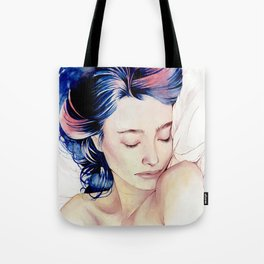 Between the sheets Tote Bag