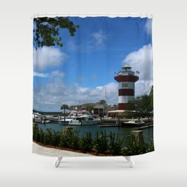 Harbour Town Light Shower Curtain