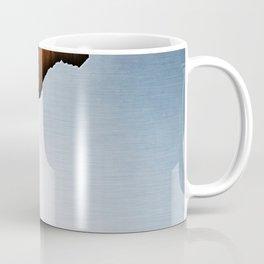 Wooden Brushed Metal Coffee Mug