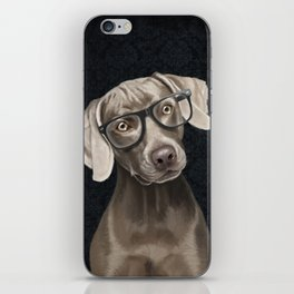 Mr Weimaraner iPhone Skin