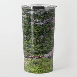 Railroad to the Yukon Travel Mug