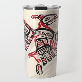 Salish Thunderbird Travel Mug