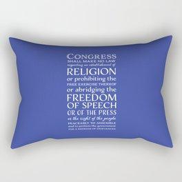 First Amendment Rights Rectangular Pillow