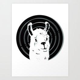Llamalook Classic Art Print