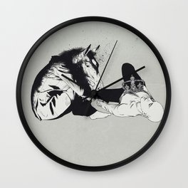 checkmate Wall Clock