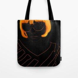 Elly Orange Tote Bag