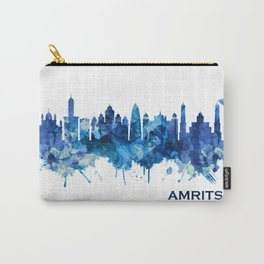 Amritsar Punjab Skyline Blue Carry-All Pouch