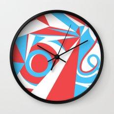 Crystal Landscape Wall Clock