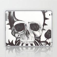 El mordisco de la calavera Laptop & iPad Skin
