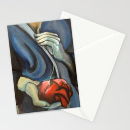 broken heart by Lilly Hibbs Stationery Cards