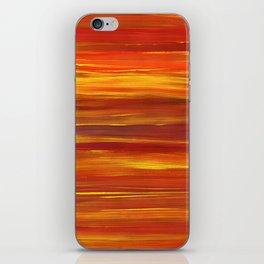 Sunset stratum iPhone Skin