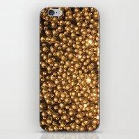 chandelier iPhone & iPod Skins featuring Chandelier  by Emily Joie de Vivre