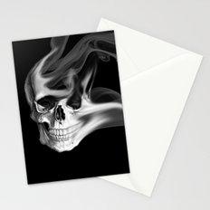 Smokin Skull Stationery Cards