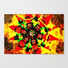 Tribal colors Canvas Print