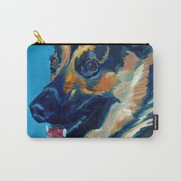 Baron the German Shepherd Carry-All Pouch