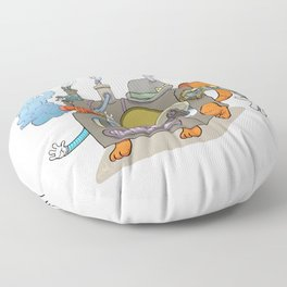The Novelty Machine Floor Pillow