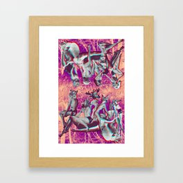 Us and Them aren't Equal Framed Art Print