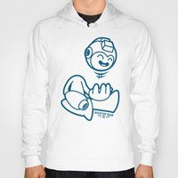 mega man Hoodies featuring Mega Man by La Manette